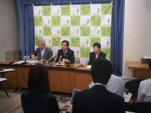 大阪知事選挙に向けて梅田ビジョン発表